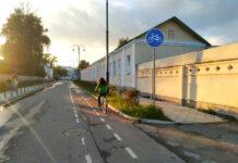 Коломенские велодорожки улица Полянская