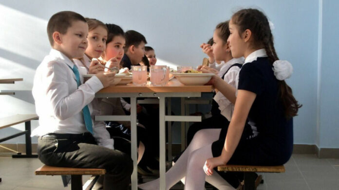 бесплатное питание в начальной школе