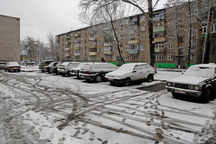 мокрый снег первые морозы