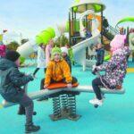размещение детских игровых площадок