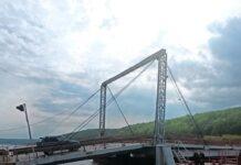 мост через Оку