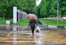 дождь гроза ливень