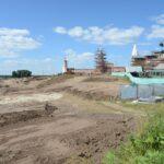 благоустройство территории у Бобренева монастыря
