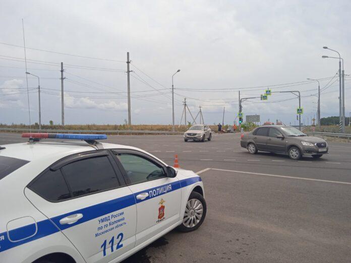 перекресток «Малинское шоссе - Молитвино»