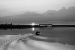 Старый железнодорожный мост через Москву-реку