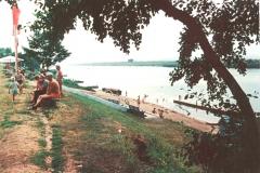 Пляж турбазы «Солнечная поляна»,